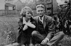 F. Scott Fitzgerald and Zelda Sayre Fitzgerald, icons of the Jazz Age