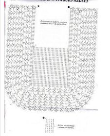 LE GATTE COI TACCHI: Schemi Bavaglini all'uncinetto Crochet Baby Bibs, Crochet Baby Clothes, Crochet For Kids, Crochet Diagram, Crochet Chart, Crochet Stitches, Baby Knitting Patterns, Crochet Patterns, Bib Pattern