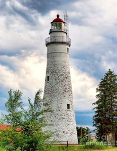 Fort Gratiot Lighthouse  Michigan Fine Art Print  by Nick Zelinsky