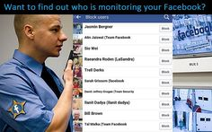Facebook Secret: Want To See Who's Monitoring Your Facebook? Follow These Steps via @worldtruthtv