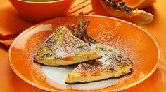 Frittata dolce alla papaia