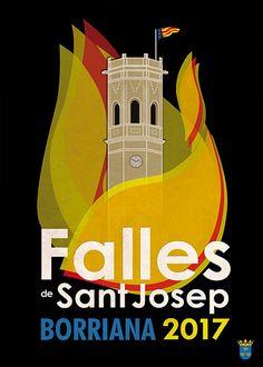 Propuesta cartel anunciador Fallas de Burriana 2017