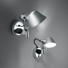 Artemide Tolomeo Faretto wall lamp, aluminium | Wall lamps | Lighting | Finnish Design Shop