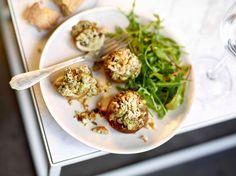 Gevulde champignons met lamsgehakt