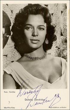 dorothy dandridge   Dorothy Dandrige Signed Photograph