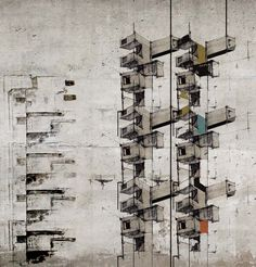 louthienandthemachines via Drawing ARCHITECTURE