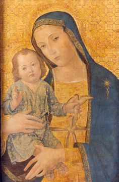 Virgin and Child / Virgen con el Niño // 1495 // Antonio Aquili, 'Antoniazzo Romano' // From: Convento de San Francisco de Valencia // Museo Bellas Artes Valencia
