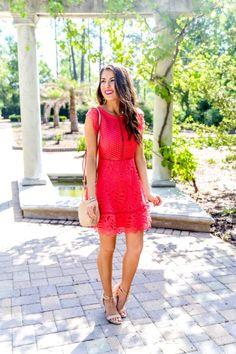 2309bdf81b4 Gorgeous Lace Dress You Can Wear Into Summer. Outdoor Wedding AttireBeach Wedding  Guest ...