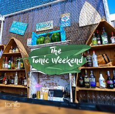 This weekend, everything is ready to be poured, served, and savored!  Tonic Beach - White Beach Lebanon - Batroun  For information: 78-866123 Enjoy our daily happy hour sunset: 50% on all drinks from 6:00 to 8:00 pm and be part of a live bbq experience!