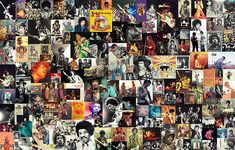 jimi hendrix, collage, james marshall, johnny allen hendrix, psychedelic rock, hard rock, blues rock, music, guitar, guitarist, rock star, legend, legendary, mosaic, rock and roll, the isley brothers, little richard, the blue flame, curtis knight and the squires, the jimi hendrix experience, band of gypsys, wall art, decorative, decoration, home decoration, living room, bedroom, cafe, bar, restaurant, hotel, fender stratocaster, gibson flying v, woodstock, musician, seattle, american, drug…