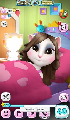 i love my talking angela so if you see the pics. you will want to buy the app so do not wait now go buy the app
