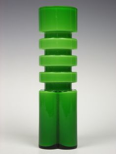 Shop 118 East: Alsterfors glass vase. Designed by Per-Olof Ström