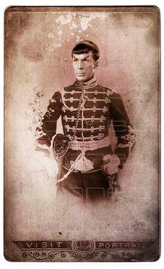 Steampunk Spock