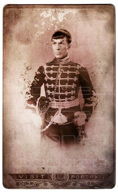 Star Trek: Vintage Style Spock I know its not TOS but looks good.