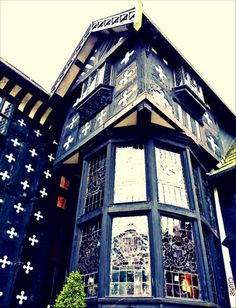 """Samlesbury Hall supposedly haunted by Lady Dorothy Southworth, known as the """"white lady""""."""