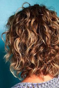 Hair Curly Women Balayage