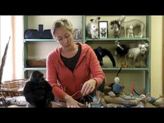 How to Make a Wire Armature of a Person by Sarafina Fiber Art - YouTube