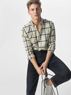 Chemises casual pour homme | Massimo Dutti