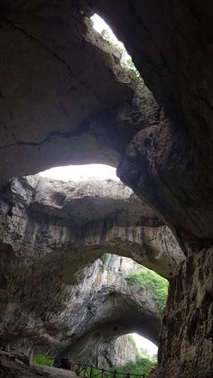Devetashka Cave in Norther Bulgaria (Balkans, Europe). Amazing view. Huge cave with holes in the ceiling. Find out the itinerary how to get there on www.toura.eu