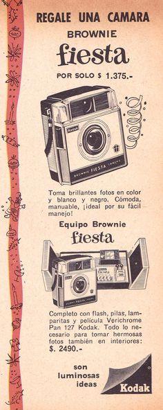 #Kodak #Brownie ad. Argentina, 1962. #filmisnotdead