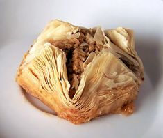 Lebanese Baklava - so intense and so worth it EVERY time.