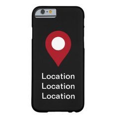 Location Theme Barely There iPhone 6 Case - real estate gifts business cyo diy customize