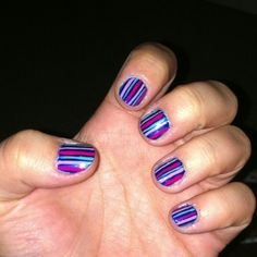 Different stripes, thanks to a preset from my sister!! Thanks :)