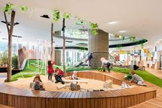 Home Discover Bringing the outside and natural elements in for early childhood education Learning Spaces Learning Centers Early Learning Kindergarten Interior Kindergarten Design Kids Library Library Design Bbc Earth Indoor Play Areas