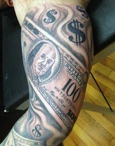 Sleeve money sign tattoo for men Money Sign Tattoo, Dollar Sign Tattoo, Art Clipart, Image Clipart, Ak47 Tattoo, I Tattoo, Yin Yang, Catrina Tattoo, Money Logo