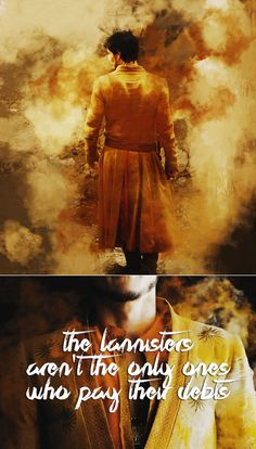 Oberyn Martell: The Lannisters aren't the only ones who pay their debts. #got #asoiaf