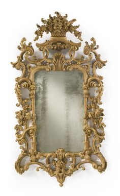 A fine George II giltwood pier mirrorcirca 1755-60 | Lot | Sotheby's