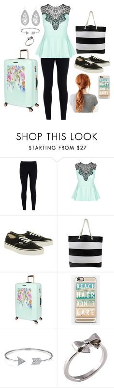 """""""The First Day Of Collage"""" by shelbiewoerman ❤ liked on Polyvore featuring NIKE, City Chic, Vans, Ted Baker, Casetify, Bling Jewelry, Joy Everley and Jessica Simpson"""