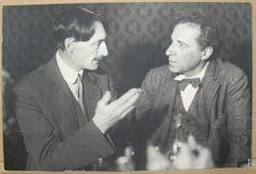 А. Барбюс и В. Э. Мейерхольд. 1927 г.
