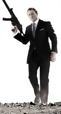 Dressing like James Bond