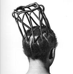 Hair style: 1001 coiffures du Nigeria dans un projet photo par le photographe nigérian J.D. 'Okhai Ojeikere