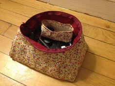 Le Chat qui tricote: Patron de la pochette à bazar !!