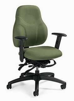 Heres a great article showcasing 5 ergonomic office chairs designed to relieve back pain