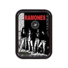 Ramones Rocket to Russia Small Tin - Relive punk's glory days with this Ramones Rocket to Russia Tin featuring Joey, Johnny, Tommy. and Dee Dee.