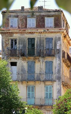 Old House.. Corfu Island (Ionian), Greece