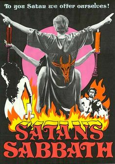 trash flavoured trash — Satan's Sabbath Horror Movie Posters, Horror Films, Horrow Movies, Satanic Art, Dark Pictures, Horror Comics, Vintage Horror, Weird Creatures, Retro Art