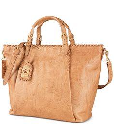 Lauren Ralph Lauren Paulden Tote - Handbags  amp  Accessories - Macy s Ralph  Lauren Handbags 2b0b25643dc7a