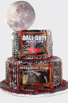 Call of Duty: Zombies  Cake by ReddyMadeCakes