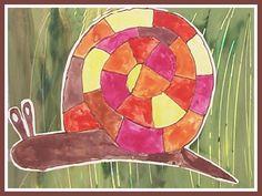 www.pripravy.estranky.cz - Fotoalbum - 02 NÁMĚTY DO VV - Náměty do VV a PV č.2 Crafts, Animals, Painting, Art, Pictures, Snail, Photograph Album, Art Background, Manualidades