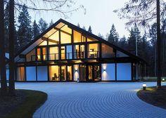 проекты фахверковых домов и коттеджей