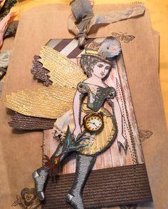Artist:  Luci Ayyat Character Construction Fairy Tag Swap