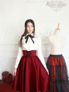 earl girl corset skirt at asianicandy