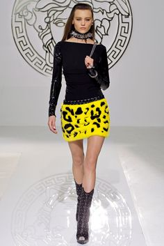 Versace, Stunning Outfit, Black/Yellow / Only Me ✌✔ xoxo