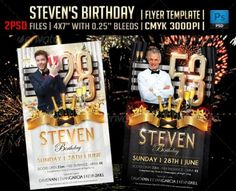 Birthday Flyer Template Psd Ai And Vector Eps Format Download