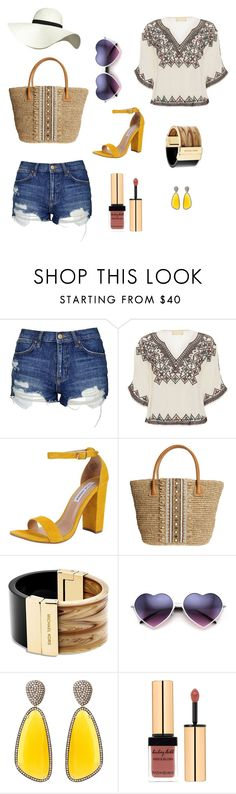 """"""""""" by debelle-camille ❤ liked on Polyvore featuring мода, Topshop, Love Sam, Steve Madden, Skemo, Michael Kors, Christina Debs и Pilot"""
