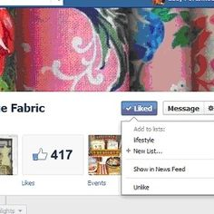 show liked pages in your news feed on FB